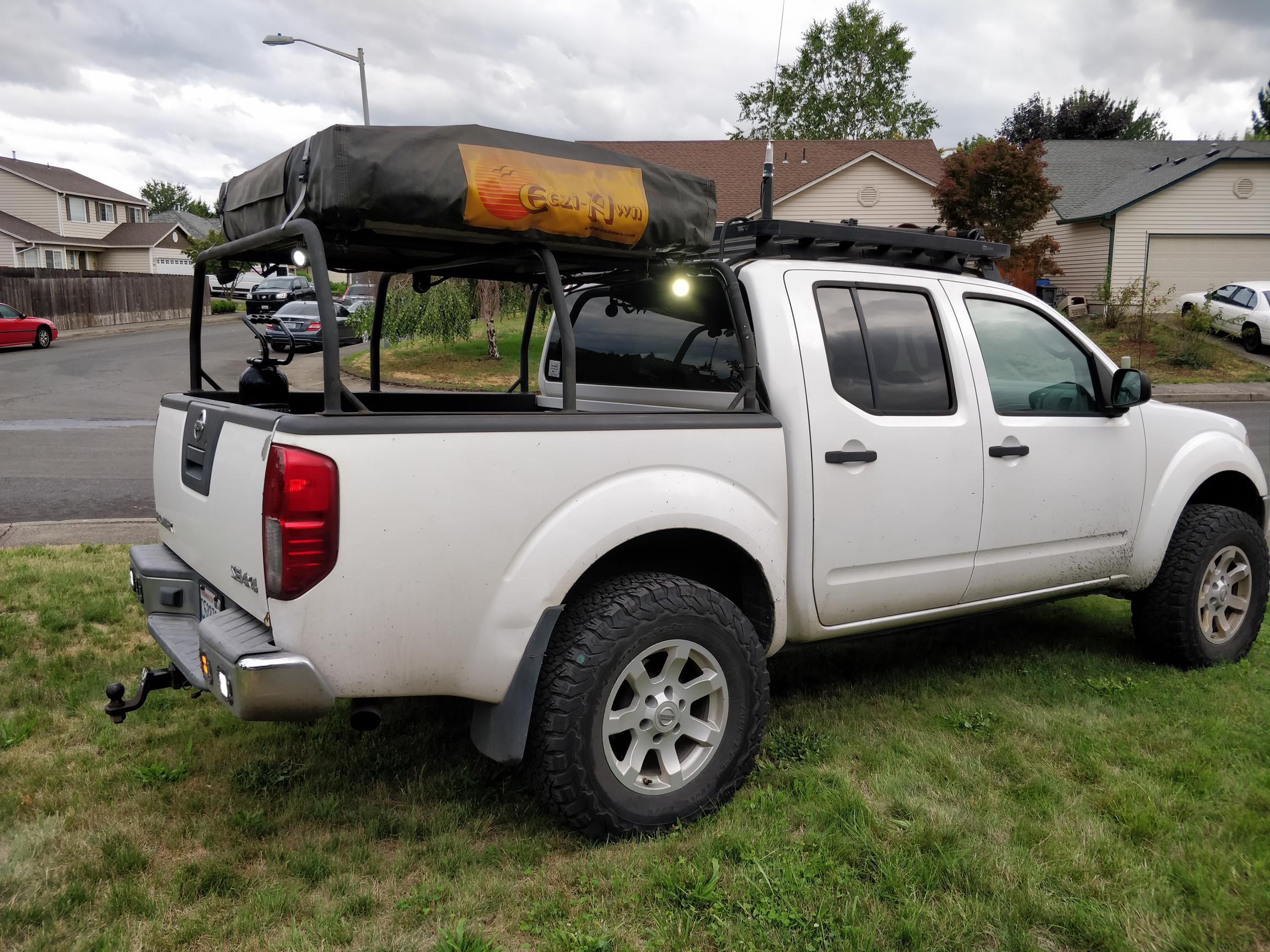 2005 Titan Swapped Nissan Frontier Expedition Overland