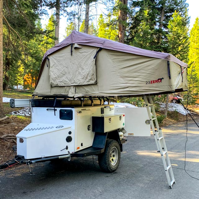 2017 Turtleback Expedition Off Road Trailer Expedition